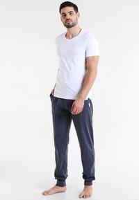 Ceceba - Pyjamasbukse - blau/dunkel melange - 1