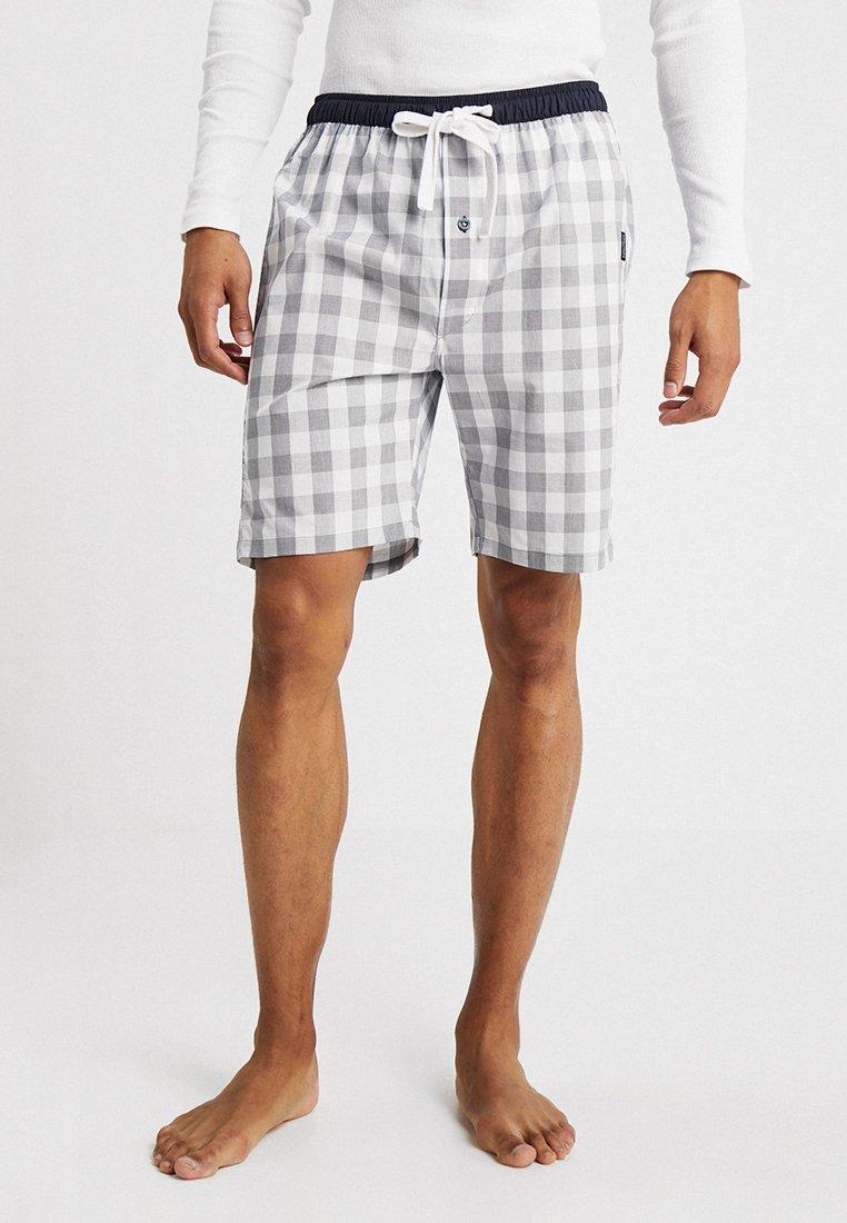 Ceceba - BERMUDA - Pyjamasbukse - grey/white
