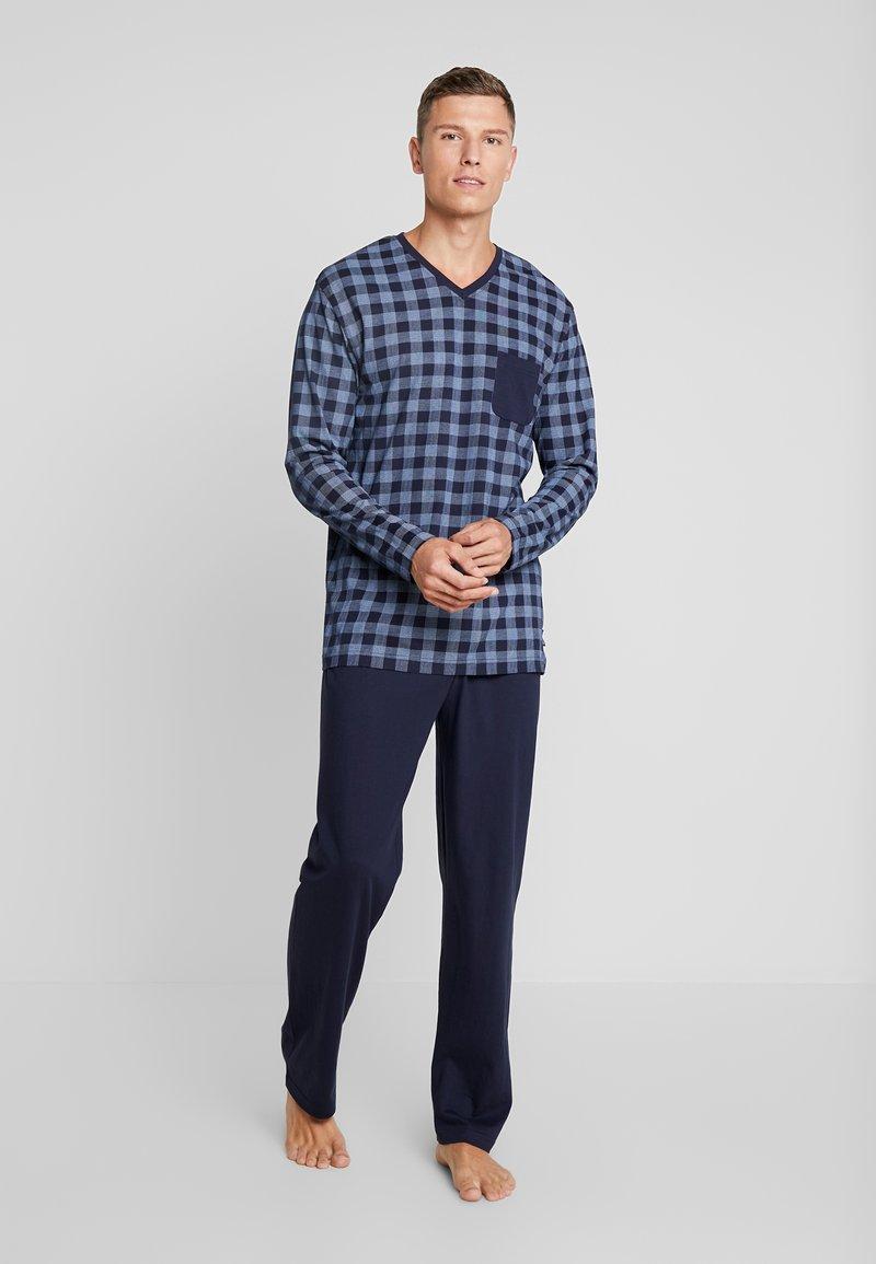 Ceceba - Pyjamas - blue medium check