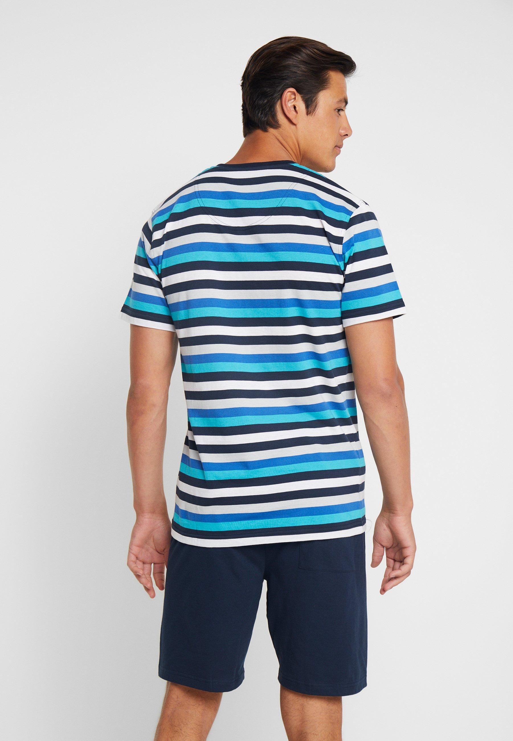 neckPyjama Shorty V Light Ceceba Blue cTFKl1J