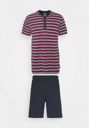 SHORTY SET - Pyjama - blue dark