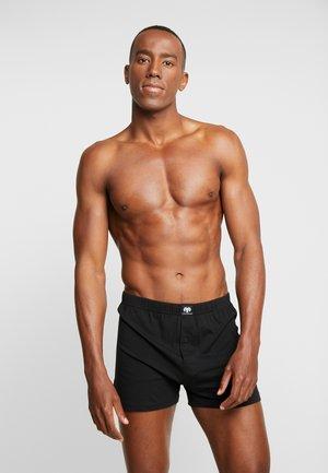5 PACK - Boxershort - black-dark-solid