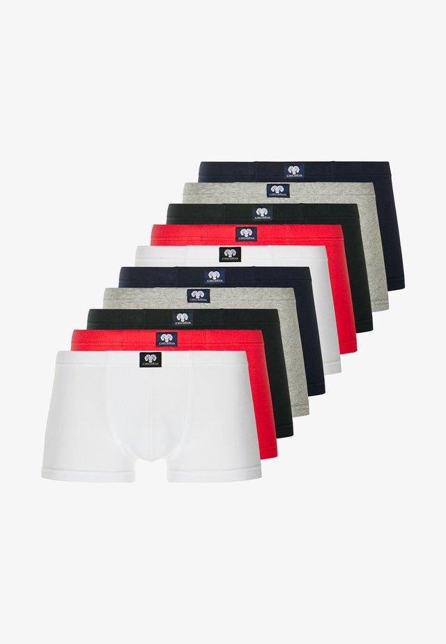 10 PACK - Underkläder - black/white/dark blue