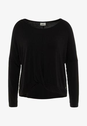 MANICA LUNGA - Långärmad tröja - black