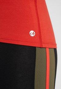 Deha - CANOTTA VOGATORE - Top - red/orange - 5