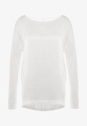 MANICA LUNGA - Pitkähihainen paita - white