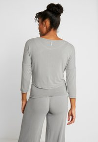 Deha - SCOLLO BARCH - Langarmshirt - grigio - 2