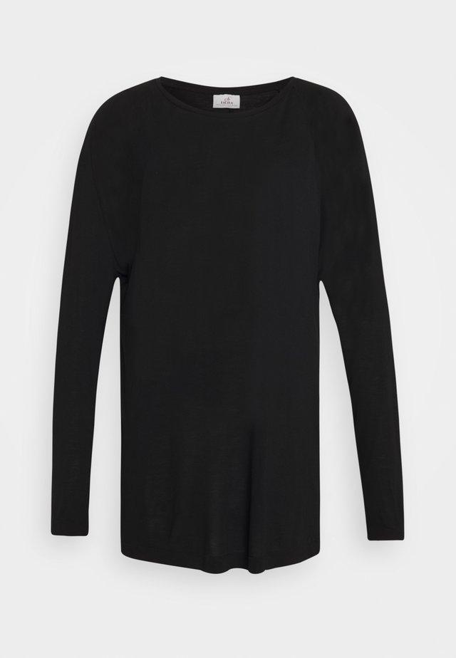 LONG SLEEVE - Long sleeved top - black