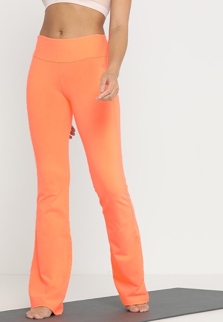 Deha - PANTA JAZZ - Træningsbukser - orange fluor