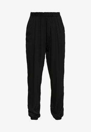 YOGA PANTS - Tracksuit bottoms - black