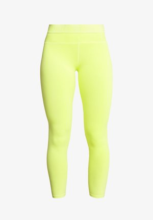 Tights - fluo yellow