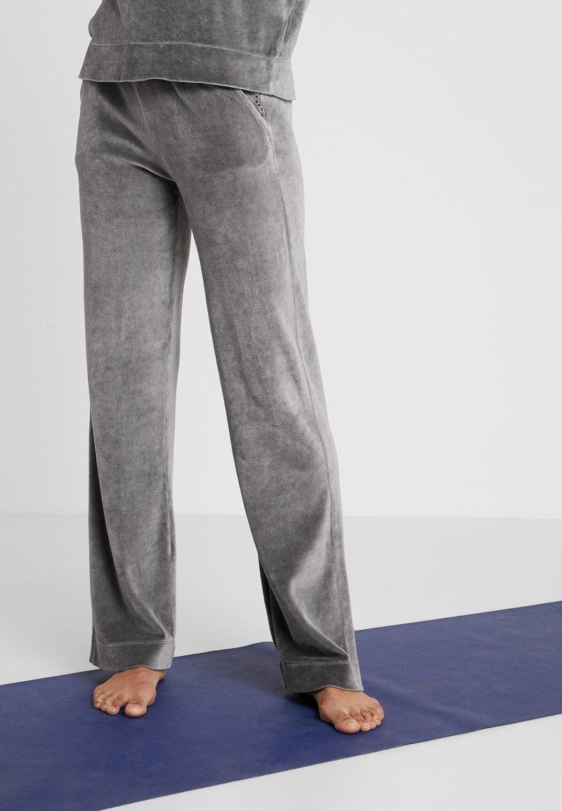 Deha - PANTALONE CINIGLIA - Pantalon de survêtement - elephant gray