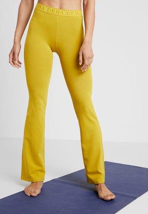 PANTA JAZZ - Pantalon de survêtement - golden lime