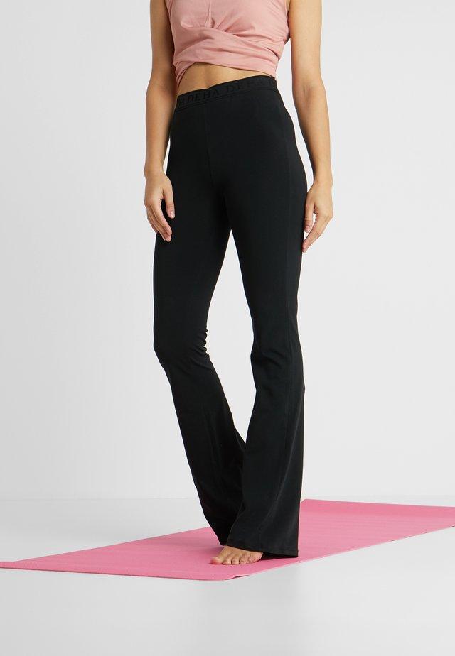 PANTA JAZZ - Teplákové kalhoty - black