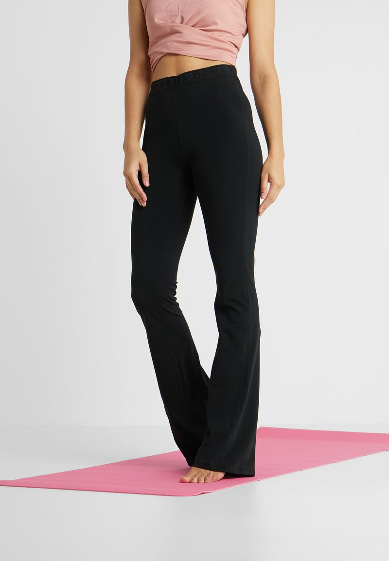 Deha - PANTA JAZZ - Træningsbukser - black