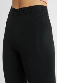 Deha - PANTA JAZZ - Tracksuit bottoms - black - 4