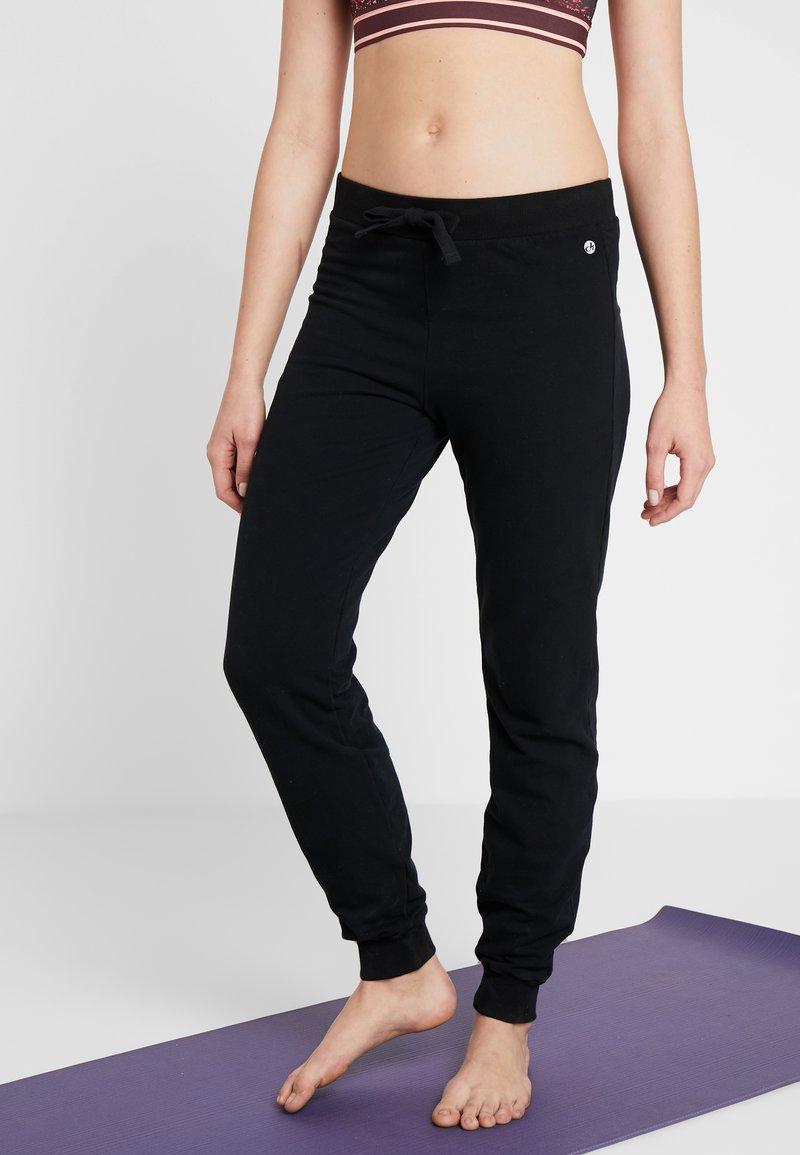 Deha - PANTALONE IN FELPA - Pantalon de survêtement - black
