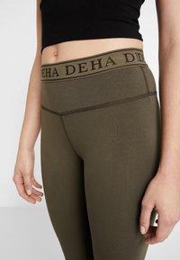 Deha - Medias - dusty green - 4