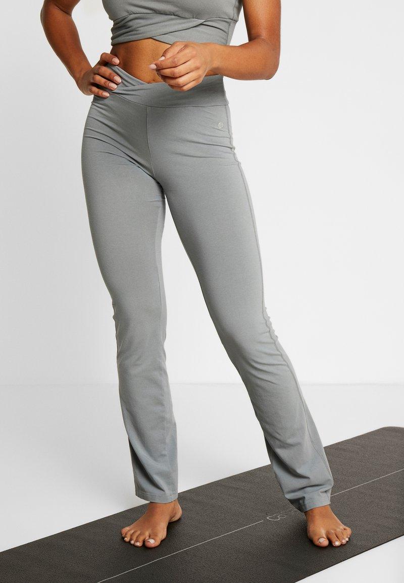 Deha - PANTALONE ADERENTE - Teplákové kalhoty - grigio
