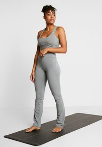Deha - PANTALONE ADERENTE - Teplákové kalhoty - grigio - 1