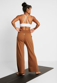 Deha - PANTALONE LARGO - Teplákové kalhoty - cocoa - 2