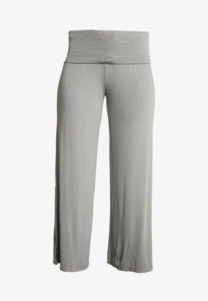 PANTALONE PALAZZO - Teplákové kalhoty - grigio