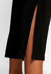 Deha - PANTALONE PALAZZO - Teplákové kalhoty - black - 3