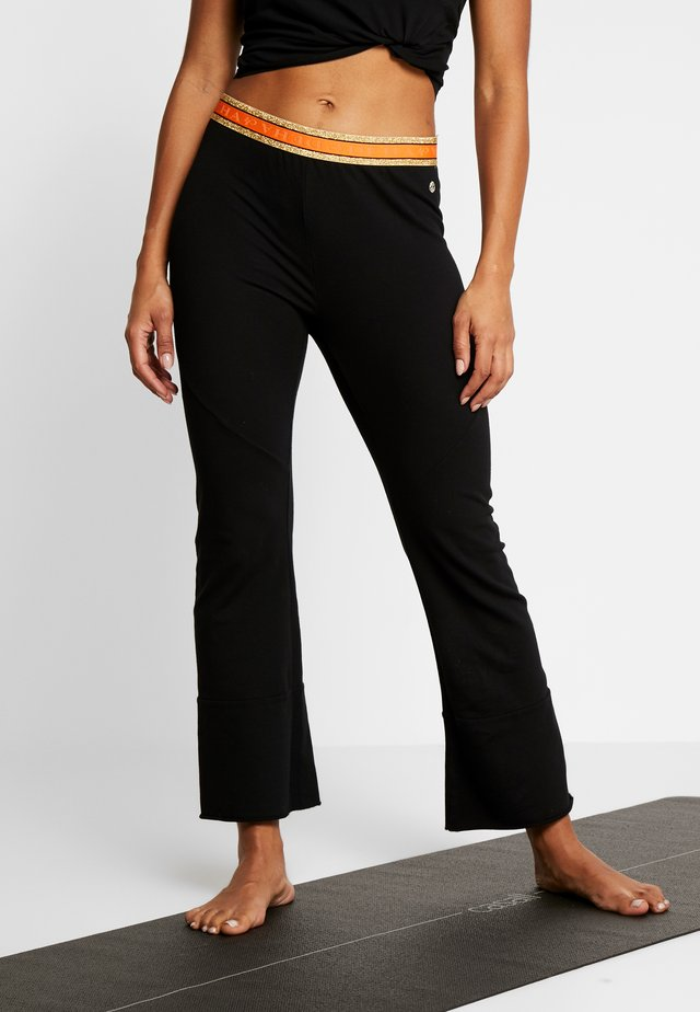 PANTALONE SVASATO - Leggings - black