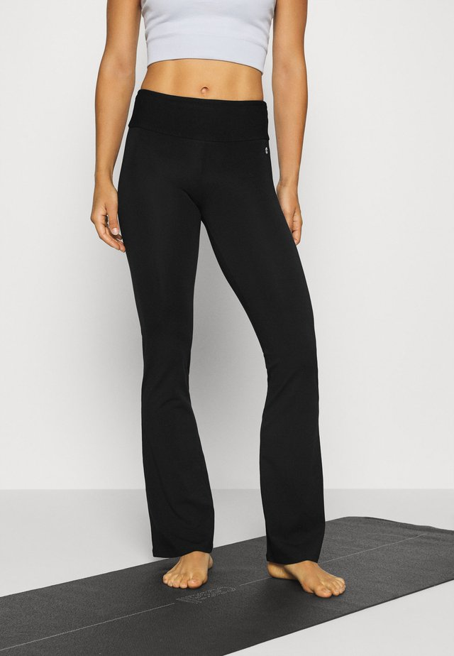 JAZZ PANTS - Spodnie treningowe - black