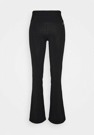 JAZZ PANTS - Teplákové kalhoty - black