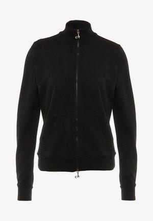 FELPA CON ZIP - Treningsjakke - black