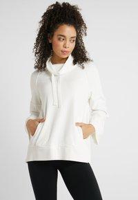 Deha - FELPA COLLO ALTO - Långärmad tröja - white - 0