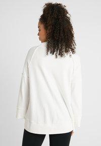 Deha - FELPA COLLO ALTO - Långärmad tröja - white - 2