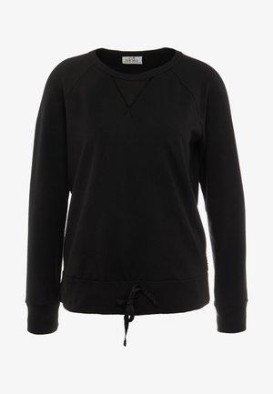 FELPA GIROCOLLO - Sweatshirt - black