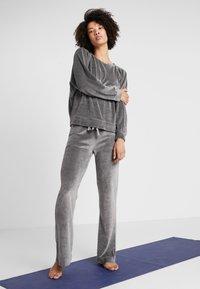 Deha - FELPA GIROCOLLO - Sweatshirt - elephant gray - 1