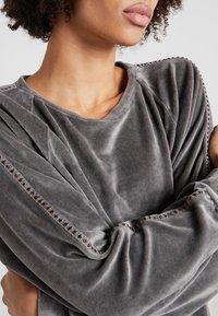 Deha - FELPA GIROCOLLO - Sweatshirt - elephant gray - 5