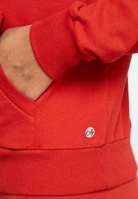 Deha - FELPA CON CAPPUCCIO - Sweat à capuche - red orange - 5