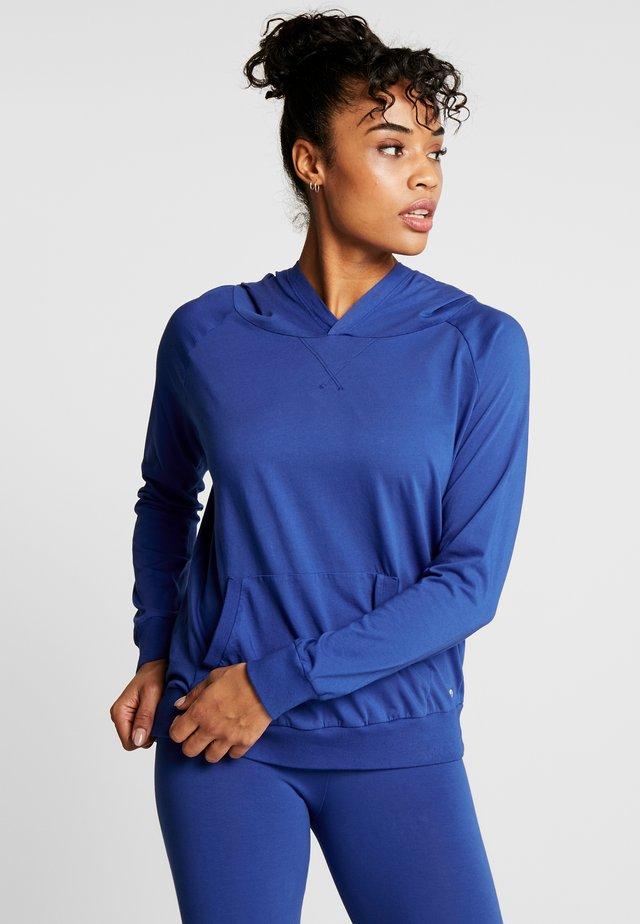 FELPA CON CAPPUCCIO - Bluza z kapturem - bluette
