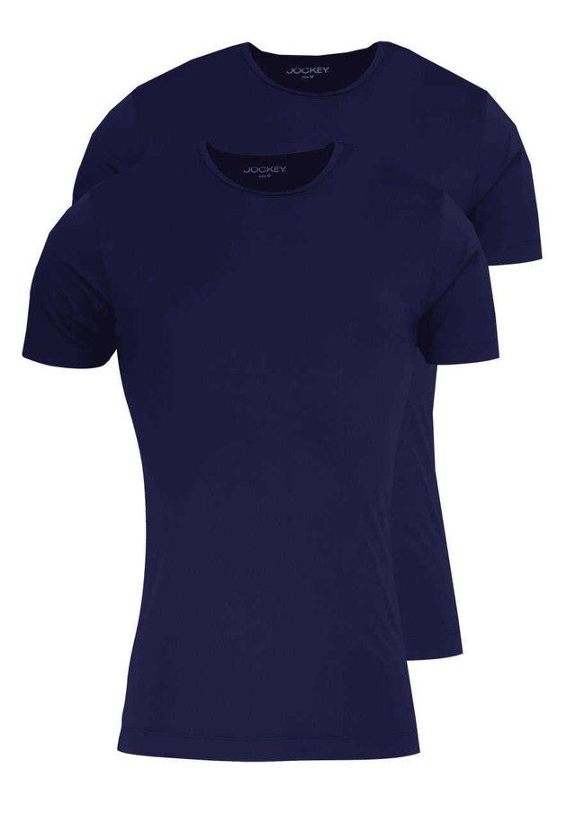 2PACK - Basic T-shirt - dunkelblau
