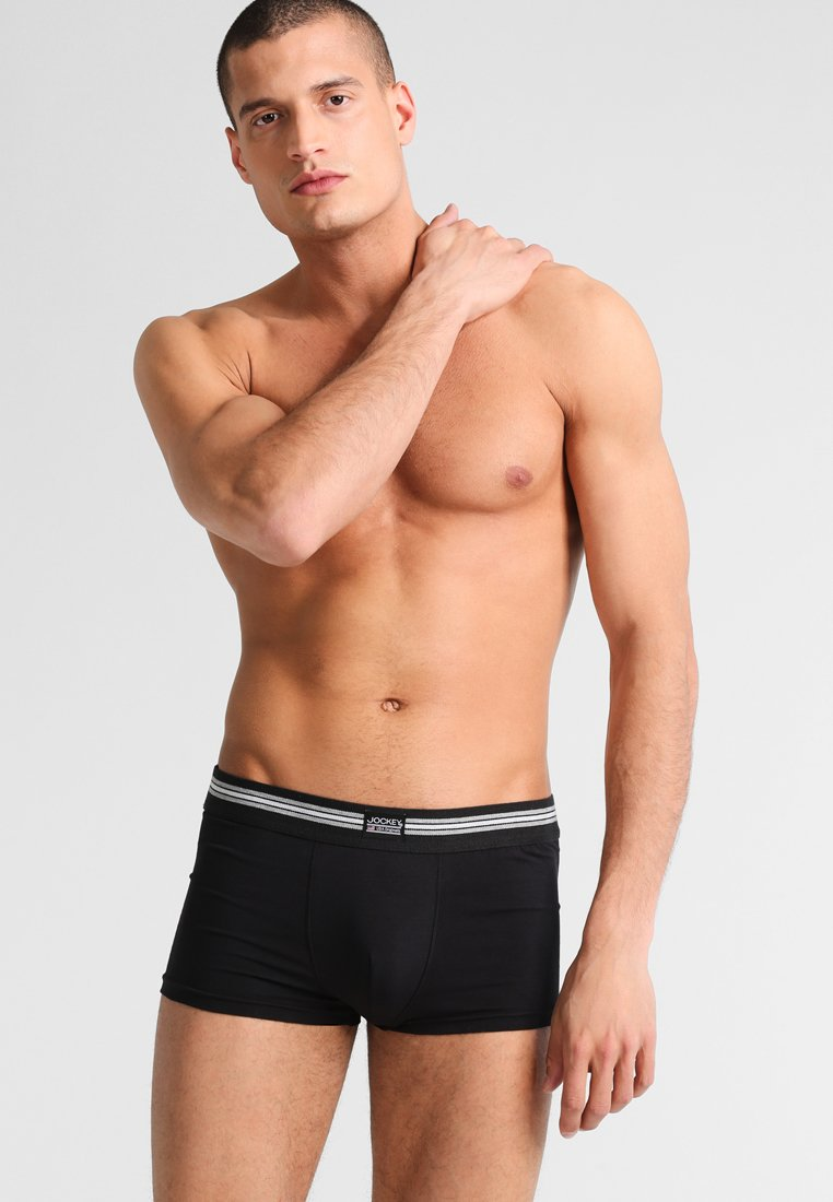 PackShorty Stretch Trunk Black Cotton 3 Jockey xCoeBd