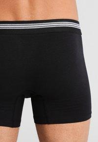 Jockey - COTTON STRETCH LONG LEG TRUNK 3 PACK - Shorty - black - 2