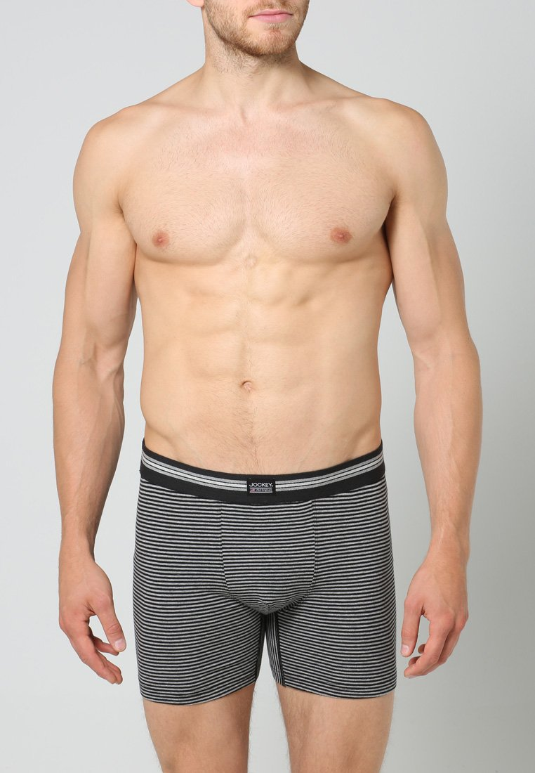 Jockey PackShorty Black Long Trunk Cotton Leg Stretch 3 grey rdshxtCQ