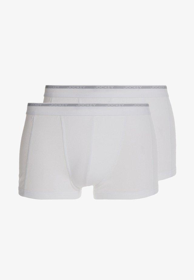 MODERN CLASSIC 2 PACK - Pants - white