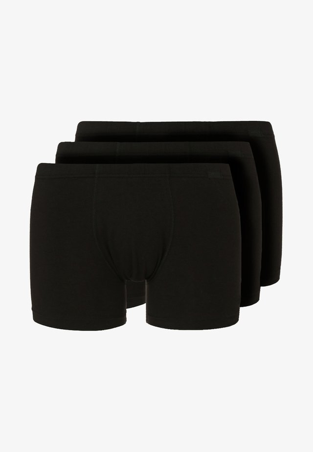 3 PACK - Pants - black