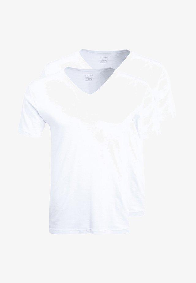MODERN CLASSIC 2 PACK - Aluspaita - white