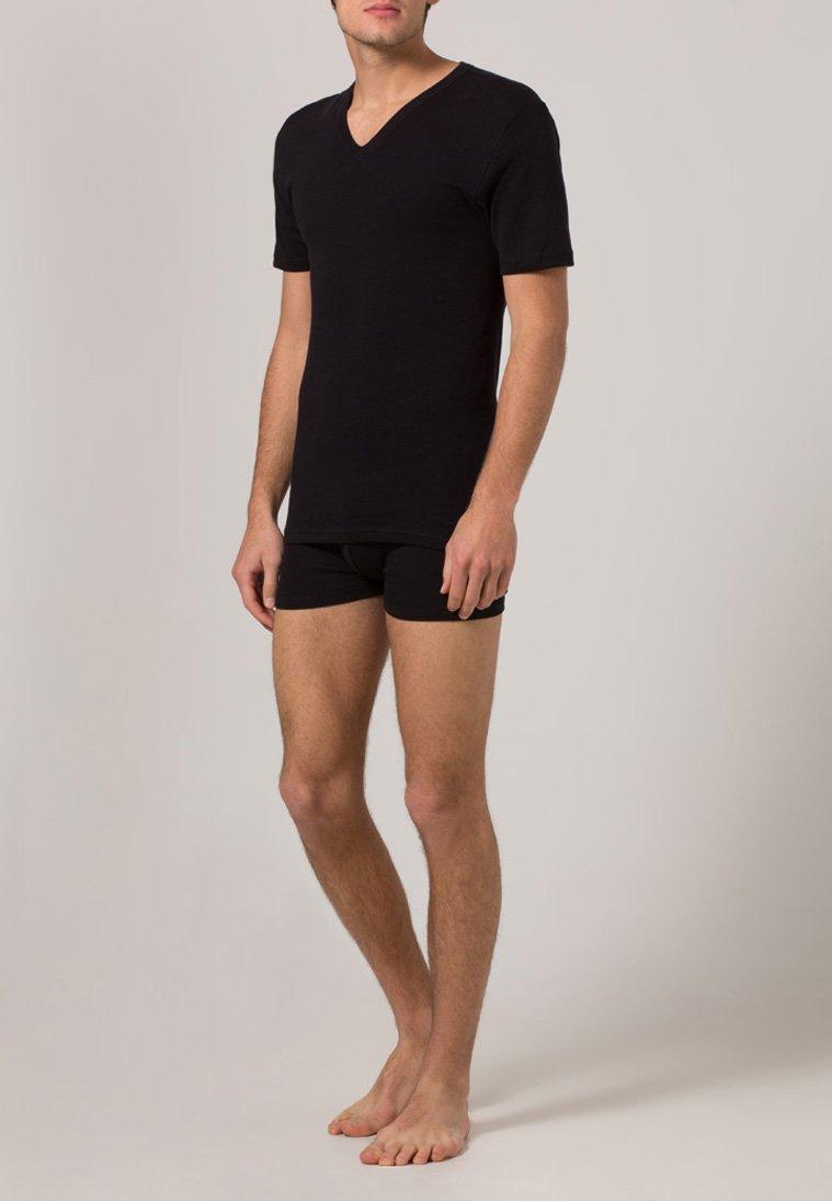 Jockey - MODERN CLASSIC 2 PACK - Unterhemd/-shirt - black