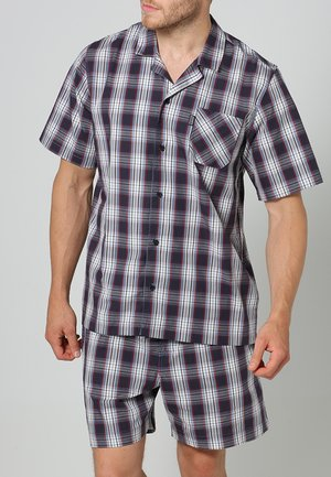 PYJAMA 1/2 WOVEN - Pyjamas - red/white