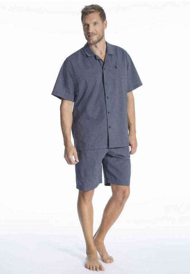 PYJAMA 1/2 WOVEN - Pyjama set - navy