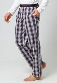 Jockey - Pantalón de pijama - red/white - 2