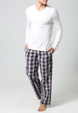 Pyjama bottoms - red/white